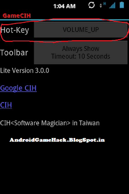 Gamecih 3 0 Download Here Android Game Cheat Hack Crack Free