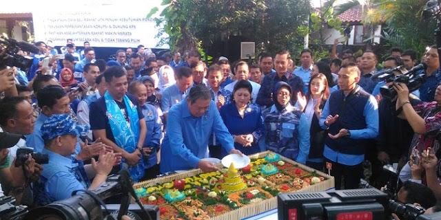 SBY di Harlah Partai Demokrat
