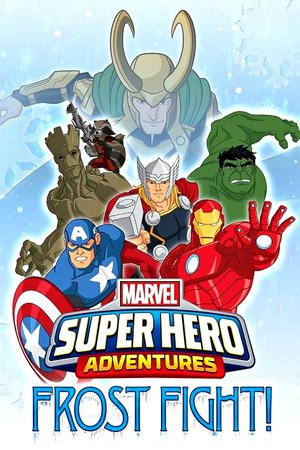 Poster Marvel Super Hero Adventures: Frost Fight! 2015