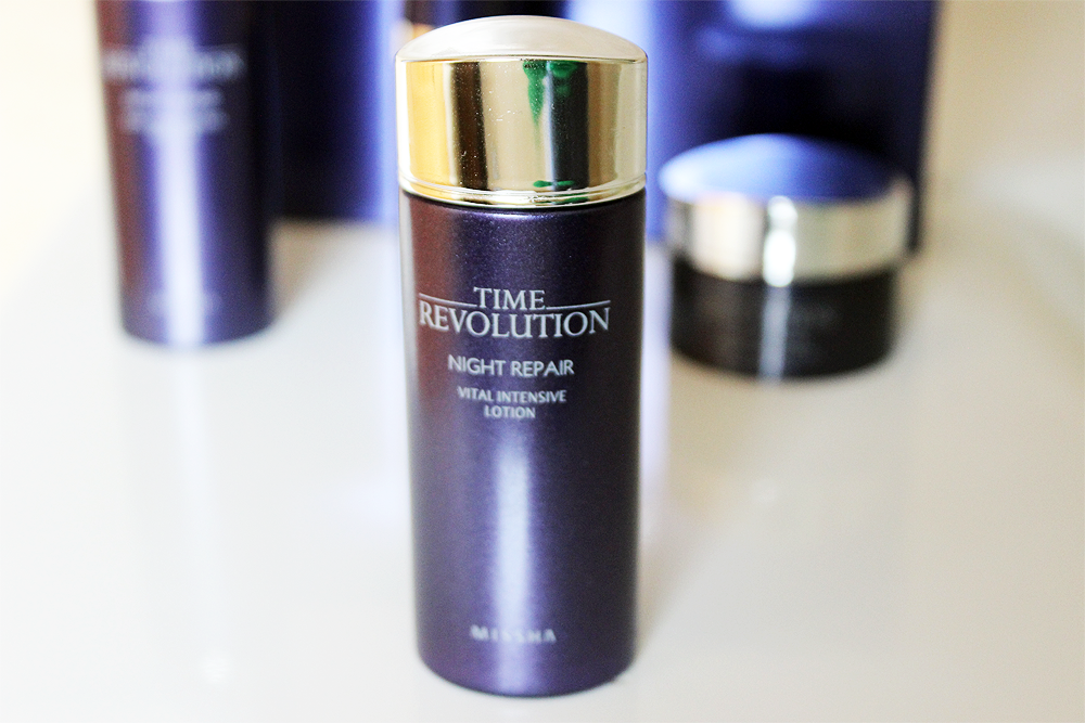 Missha Time Revolution Night Repair Vital Intensive Lotion review