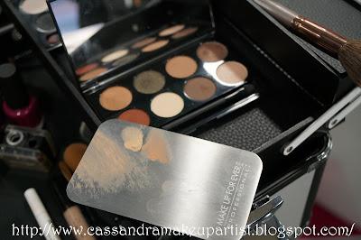 make up for ever flat metal palette - mufe - make up forever - makeupforever - rvb lab - diego della palma