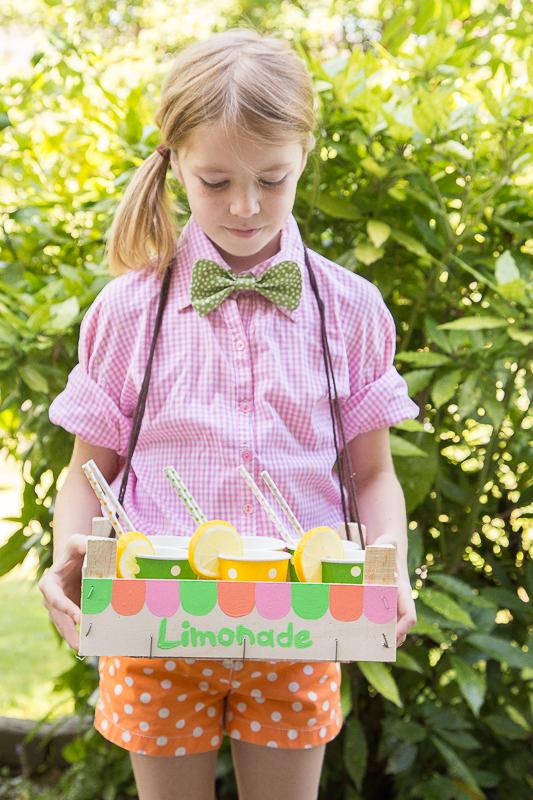 pfefferminzgruen sommerspaß für kinder  limonadenstand