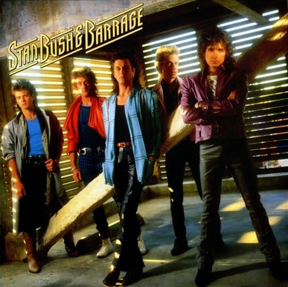 Stan Bush and Barrage st 1987 aor melodic rock