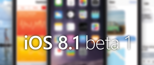 Download iOS 8.1 Beta 1 Firmware IPSW for iPhone, iPad, iPod & Apple TV via Direct Links