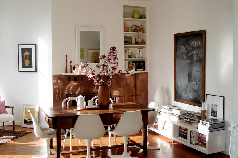 Modern Furniture How to easily mix decorating styles
