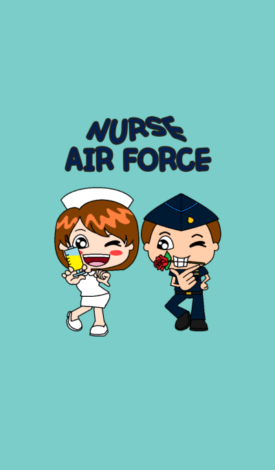 Nurse and Air Force forever