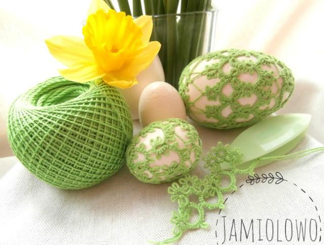 frywolitkowe jajka