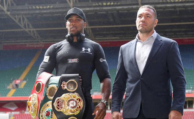 "Anthony Joshu Ready To ""Go To War"" As Kubrat Pulev Predicts Terrifying Fight"