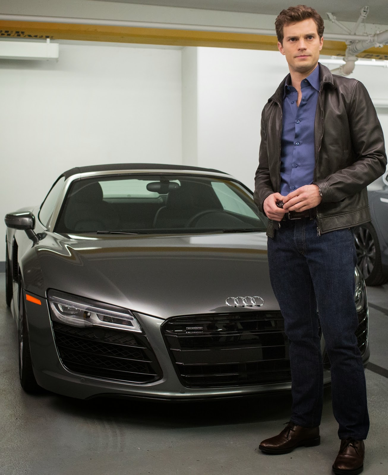Grey Car: Fifty Shades Updates: HQ PHOTO: New Still Of Christian