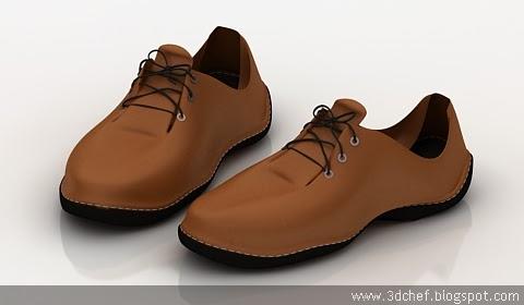 shoes 3d model free