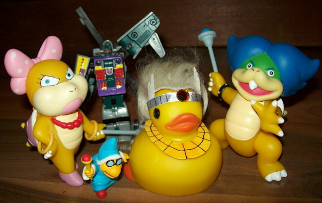 KoopaTV Adventures cast staff photo Wendy O. Koopa Vortex Kamek Ludwig Von Rawk Hawk duck