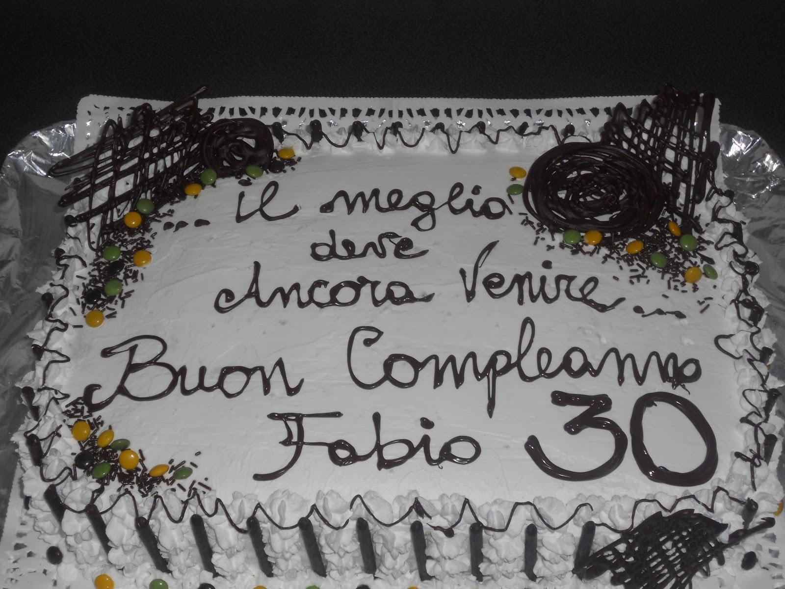 Frasi Sulla Torta Di Compleanno.Frasi Compleanno 30 Anni Torta