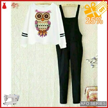 AFO006 Model Fashion Jump Owl 2in1 Modis Murah BMGShop