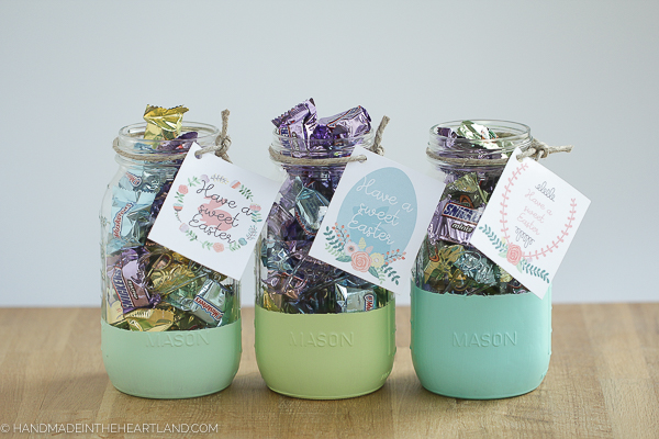Easter mason jar gifts handmade in the heartland simple easter gifts for friends and family negle Image collections