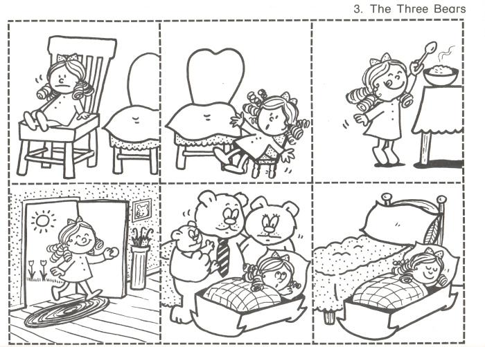 Snipp Snapp Snute: Gullhår og de tre bjørnene