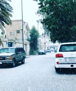 Snowfall in Saudi Arabia delights residents
