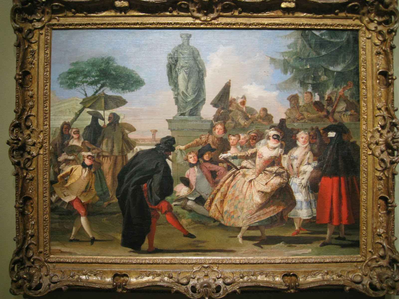 D Painting Exhibition : Art frame splendore a venezia exhibition at the montreal