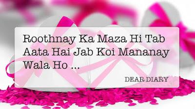 dear diary urdu poetry images 2