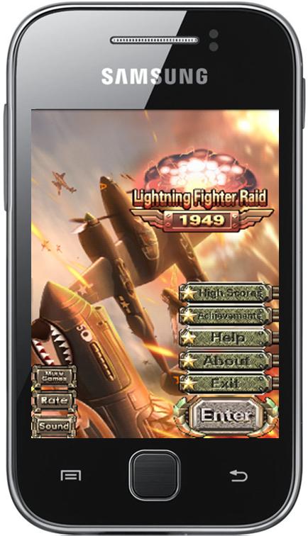 Lightning Fighter Raid 1949 GALAXY Y | My Galaxy APK