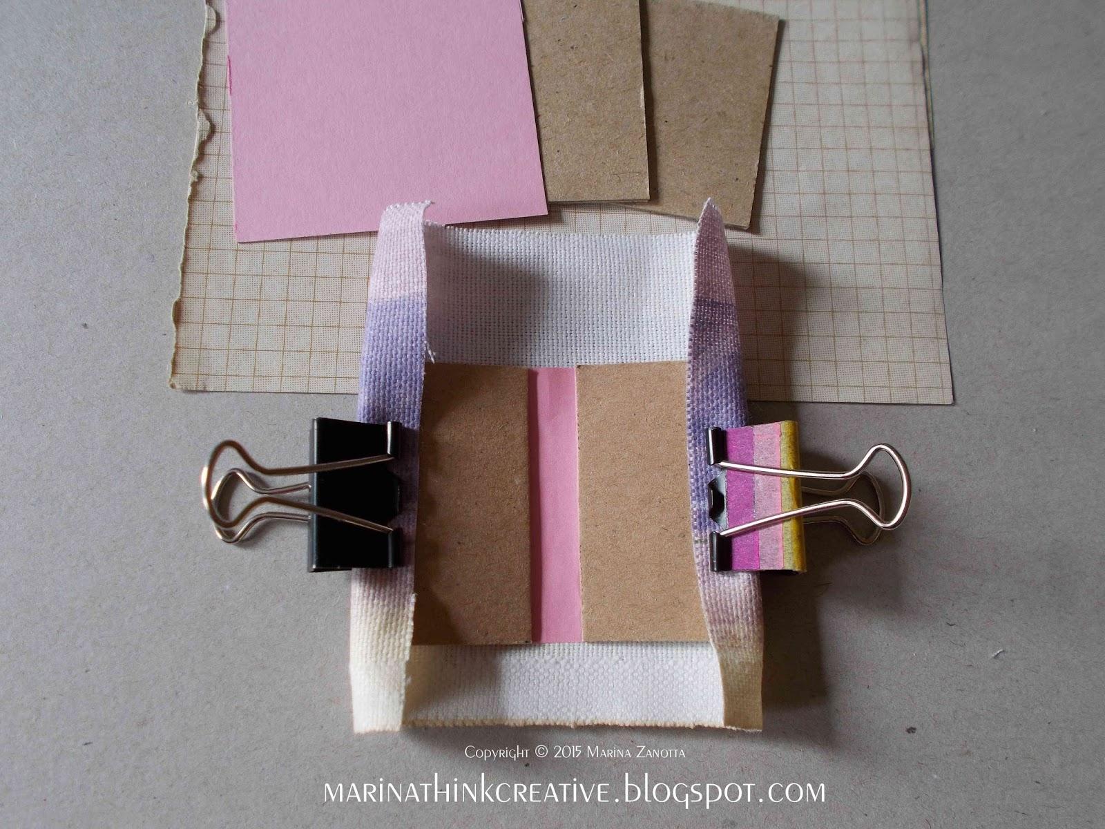 Come fare un portachiavi mini book tutorial for Esterno sinistro forte