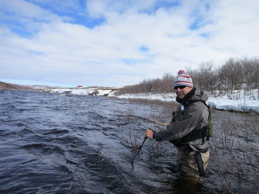 Yokanga lodge fishing blog extreme weather for Battle ground lake fishing