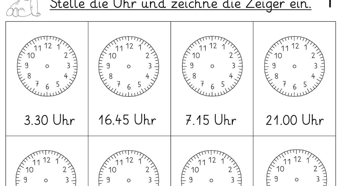 Großzügig Mathe Uhr Arbeitsblatt Galerie - Super Lehrer ...