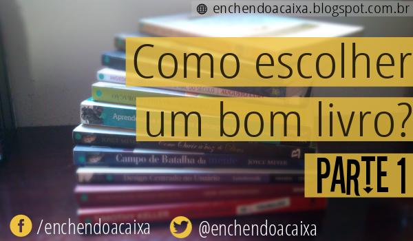 Como escolher um bom livro?