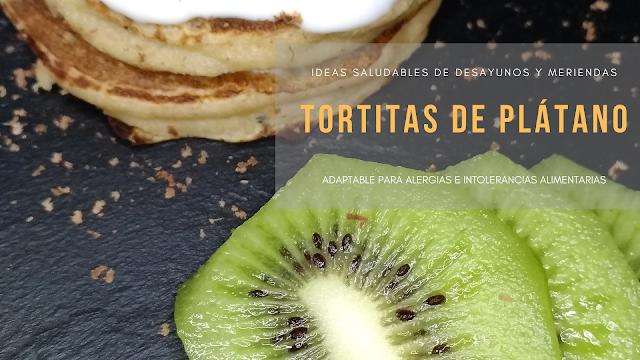 Tortitas de plátano o banana sin huevo sin leche idea de desayuno saludable y merienda para peques unamamaenlacocina Una Mamá en la Cocina