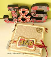 http://www.arteartesaniaymanualidades.com/2015/02/libro-de-firmas-scrapbooking-y-letras.html