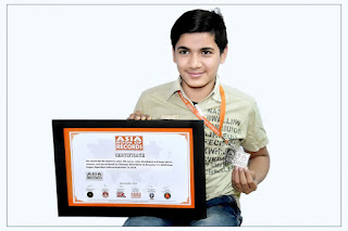 Nagaur Chinmay Mittal create history in Rubik's Cube