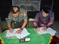 MoU Benteng Pendem, Wujud Kepedulian TNI-Rakyat