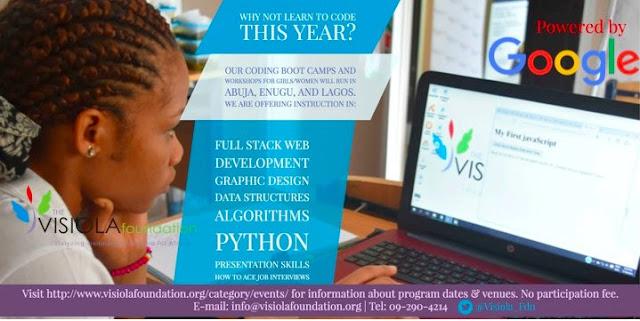 Visiola Foundation_Abuja_Lagos_Nigeria_BootCamp_Programming_Languages