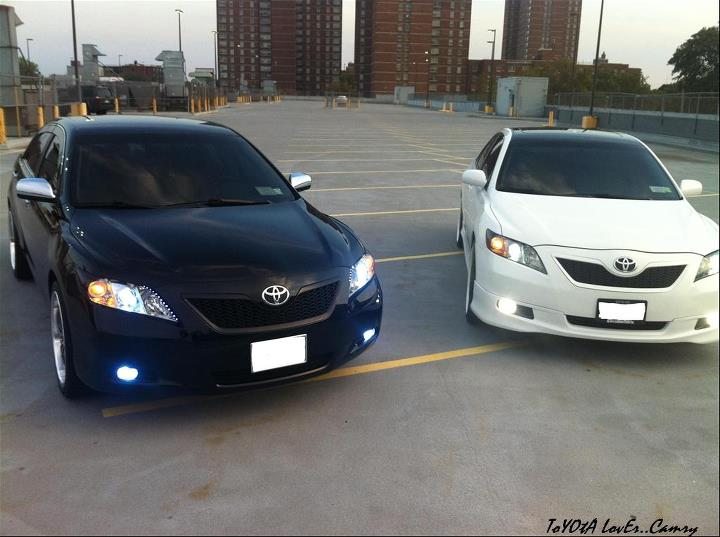 Modified Cars And Trucks White Toyota Camry Modified