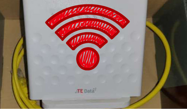 طريقة اخفاء شبكة الواى فاى من راوتر تى داتا Hidden Wifi