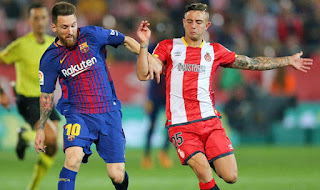 Youngster turned down the opportunity to swap shirts with LIonel Messi
