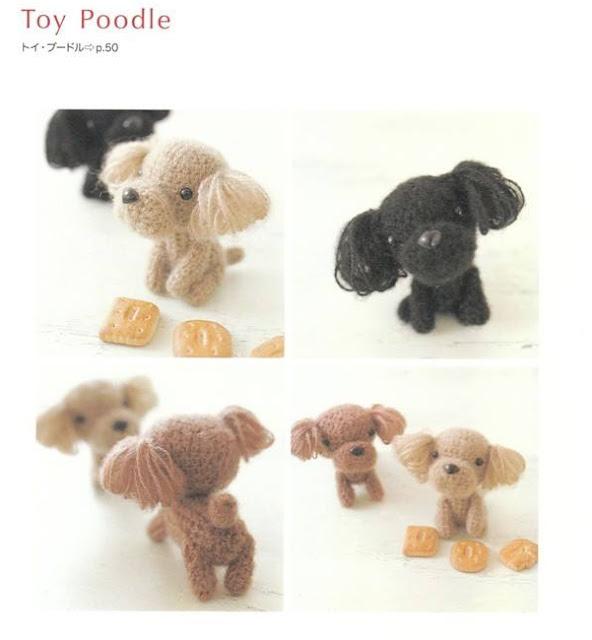 Amigurumis perritos a crochet