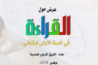 القراءة في السنة الأولى ابتدائي في الجمهورية الجزائرية للاستئناس