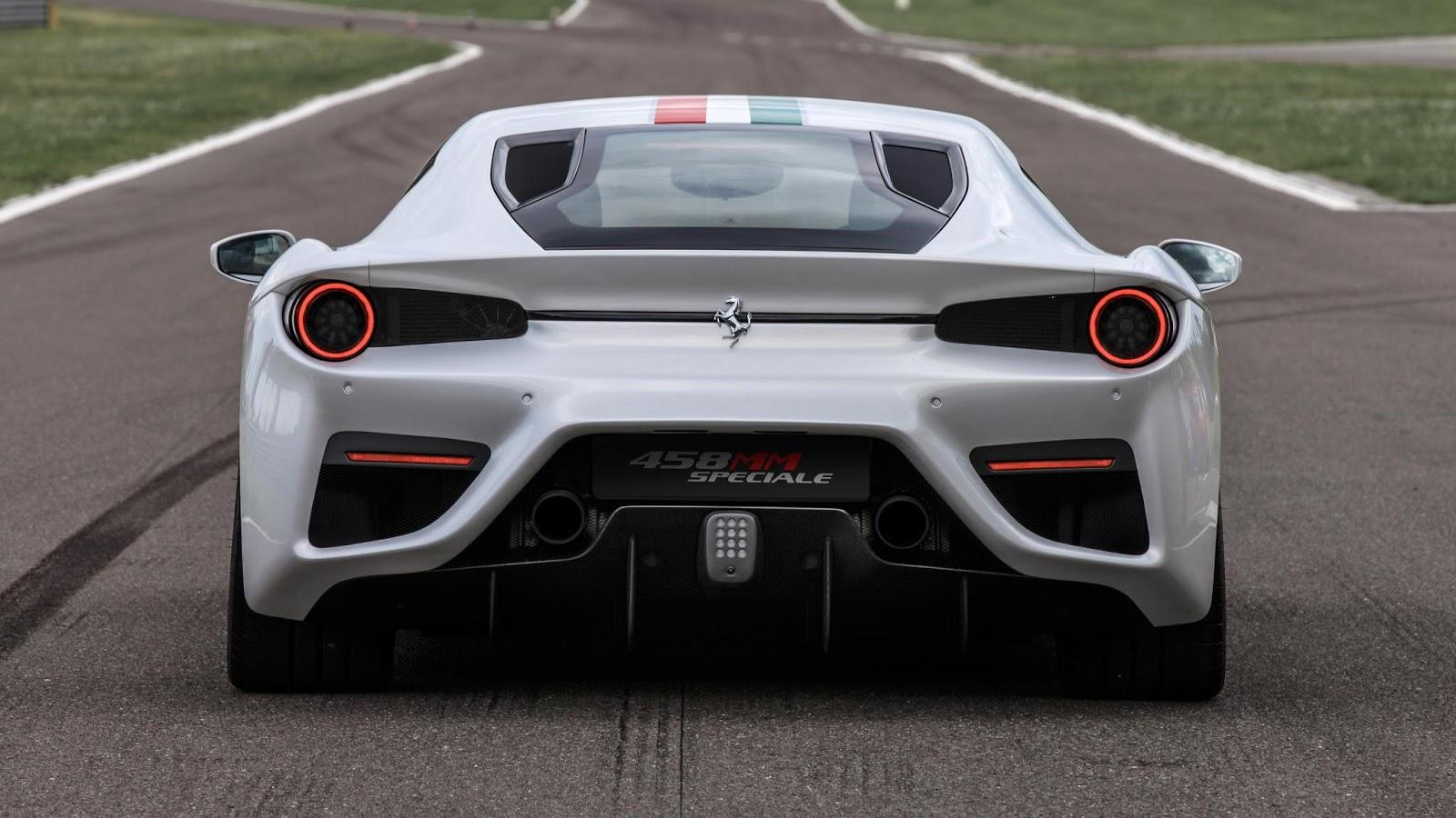 Siêu xe Ferrari 458 MM Speciale chính thức lộ diện