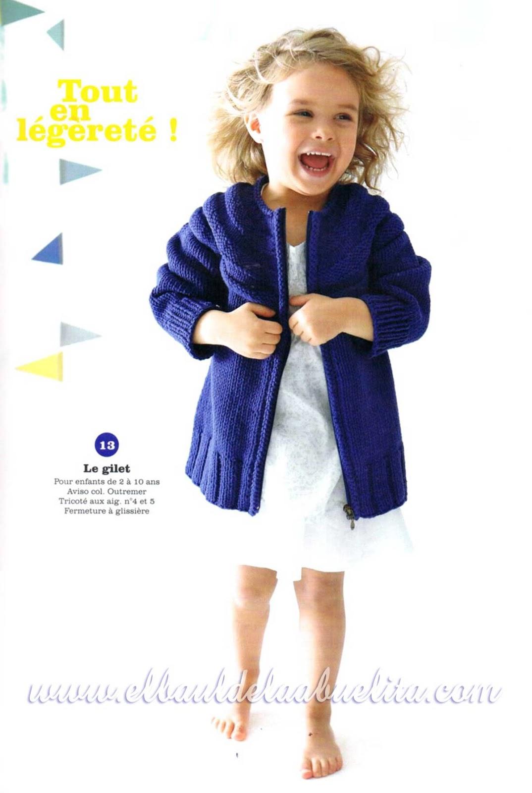 El Baúl de la Abuelita: Revista Phildar Niños y Bebés Primavera-Verano