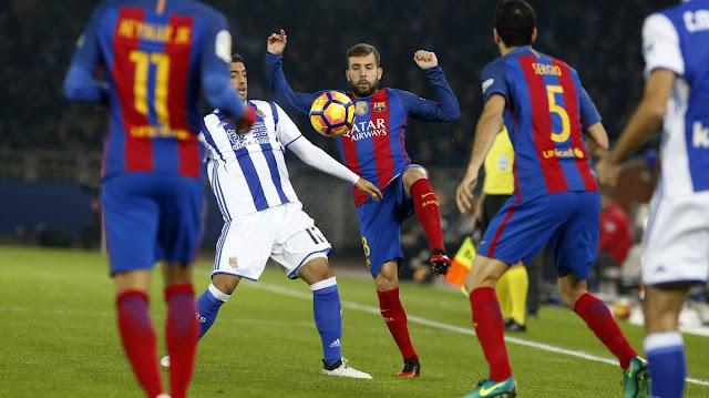 La Real Sociedad dio una lección al Barcelona