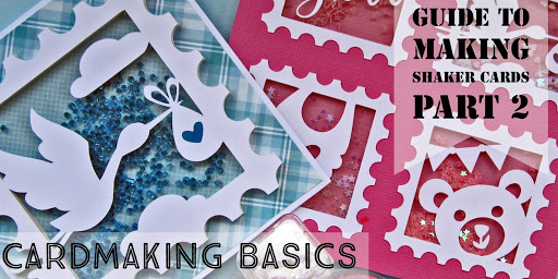 Guide to Making Shaker Cards Part 2. Cardmaking Basics. Designed by Janet Packer for Silhouette UK