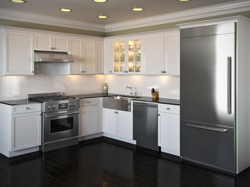 Awesome L Shaped Kitchen Layouts For You Model Home