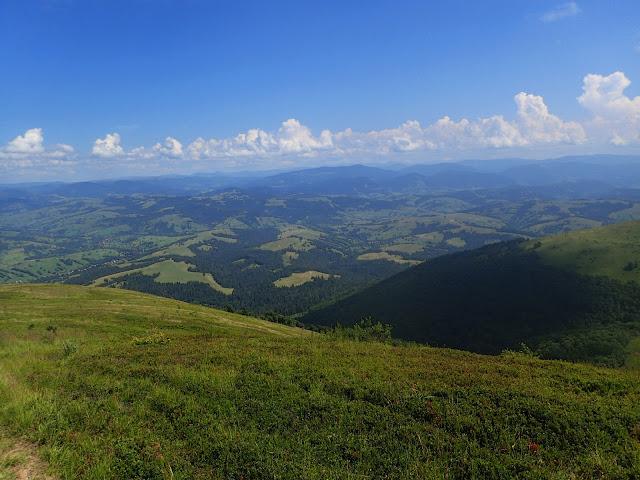Krajobraz ukraińskich gór