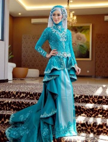 model kebaya pengantin modis