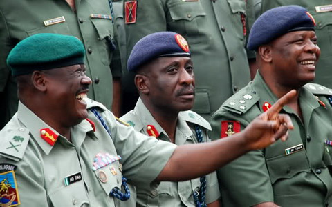 nigerian army general embezzled funds