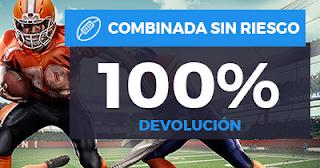Paston Devolución NFL: Combinada 4x3 100%  hasta 24-9