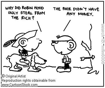 Social Inequality Cartoons