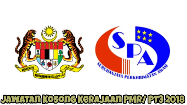 Jawatan Kosong Kerajaan PMR/ PT3 2031