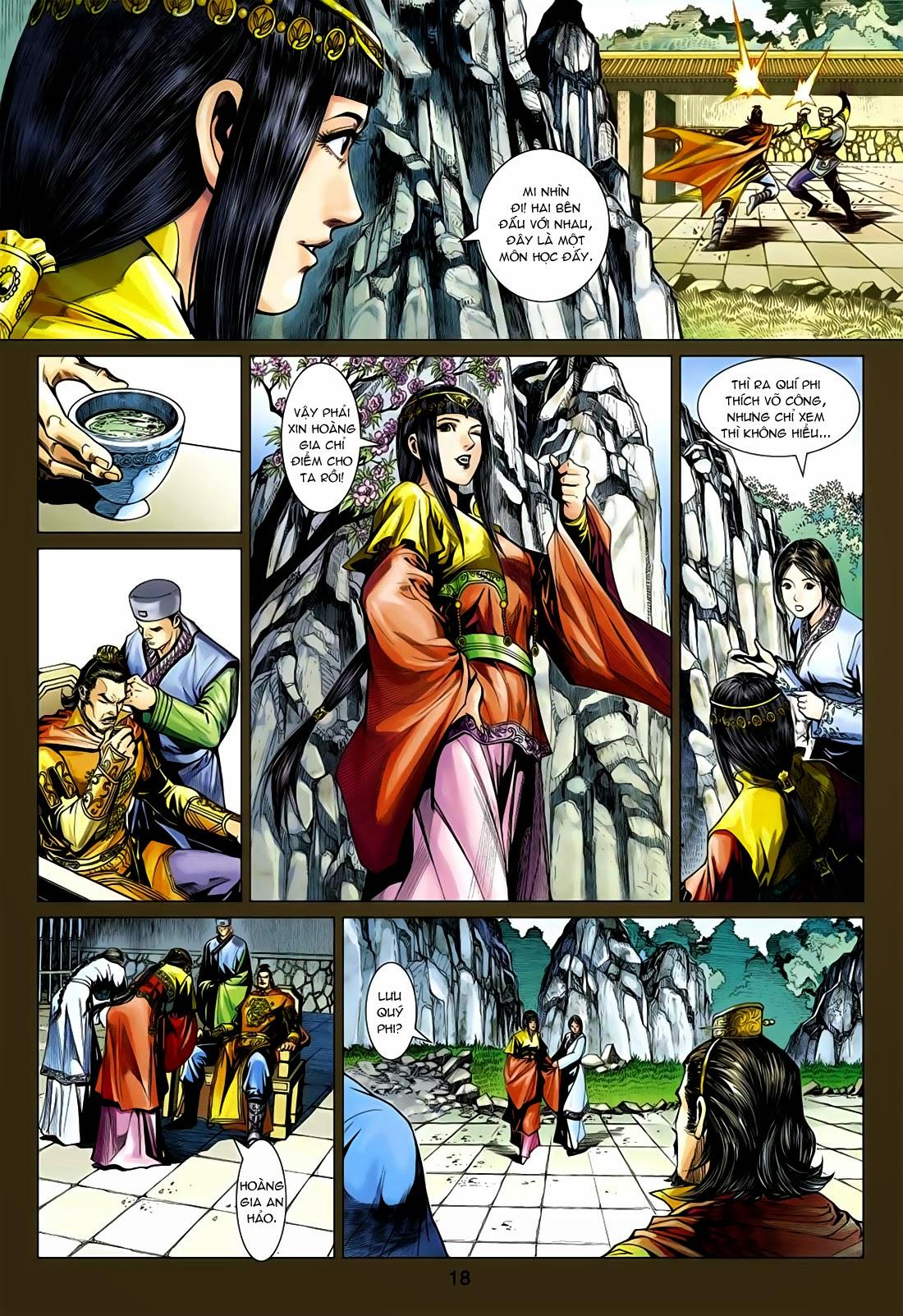 Anh Hùng Xạ Điêu anh hùng xạ đêu chap 75: hoàng thành cựu sự trang 18