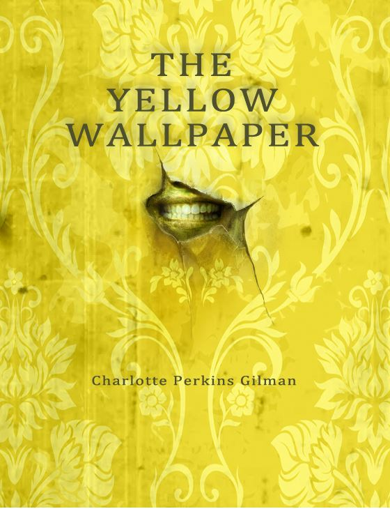 Book With Black And Yellow Cover : Nick palmer arts the yellow wallpaper book covers for fun